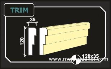 "trim <a href=""https://www.sove.istanbul/blog/291-sove-nedir.html"" title=""Söve Nedir, Söve Ne Demek"" alt=""Söve Nedir, Pencere ve Kapı Sövesi Nedir""><strong><u>Söve</u></strong></a> 12cm x 3.5cm"