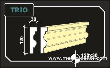 """2005 ten Günümüze Binlerce Metre Trio <a href=""""https://www.sove.istanbul/blog/291-sove-nedir.html"""" title=""""Söve Nedir, Söve Ne Demek"""" alt=""""Söve Nedir, Pencere ve Kapı Sövesi Nedir""""><strong><u>Söve</u></strong></a> 12cm x 3cm"""
